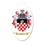 Ackery 35x21 Oval Wall Decal