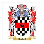 Ackland Square Car Magnet 3