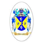 Ackroyd Sticker (Oval 50 pk)