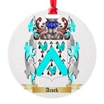 Acock Round Ornament
