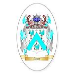 Acott Sticker (Oval 10 pk)