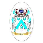 Acott Sticker (Oval 50 pk)