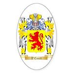 A'Court Sticker (Oval 50 pk)