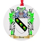 Acres Round Ornament