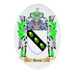 Acres Ornament (Oval)