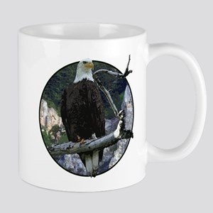 Bald Eagle in cliffs Mug