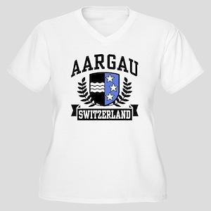 Aargau Switzerland Women's Plus Size V-Neck T-Shir