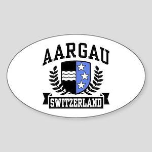 Aargau Switzerland Sticker (Oval)