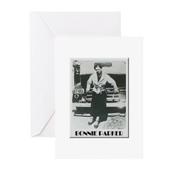 Bonnie Parker Greeting Cards (Pk of 20)