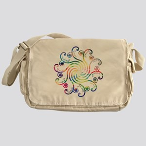 Cosmic Peace Love Messenger Bag