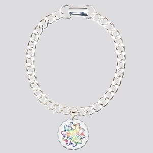 Cosmic Peace Love Charm Bracelet, One Charm