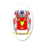 Adames 20x12 Oval Wall Decal