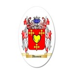 Adames 35x21 Oval Wall Decal
