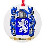Adamini Round Ornament