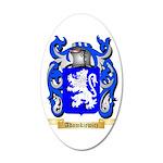 Adamkiewicz 35x21 Oval Wall Decal