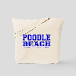 Poodle Beach Collegiate Tote Bag