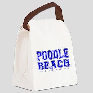 Poodle Beach Collegiate Canvas Lunch Bag