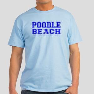 Poodle Beach Collegiate Light Blue T-Shirt