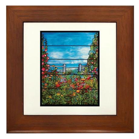 Tiffany Seascape Framed Tile