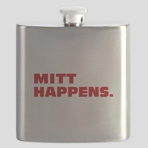 Mitt Happens Flask