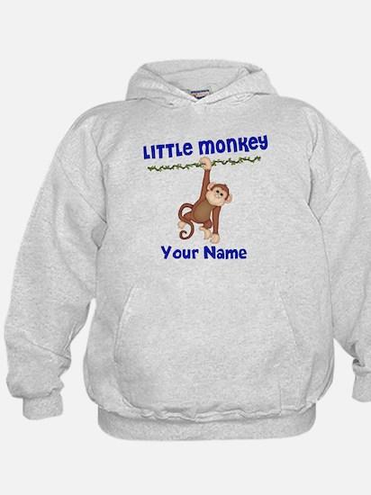 Monkey Boy Kids Personalized Hoodie