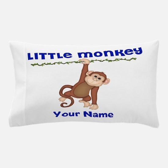 Little Monkey Boys Pillow Case