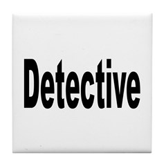 Detective Tile Coaster
