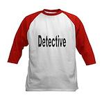 Detective (Front) Kids Baseball Jersey