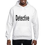 Detective (Front) Hooded Sweatshirt