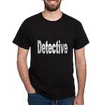 Detective (Front) Black T-Shirt