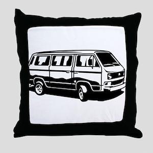 Transporter Van 3.1 Throw Pillow