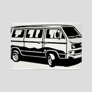 Transporter Van 3.1 Rectangle Magnet