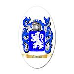 Adamoli 20x12 Oval Wall Decal