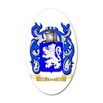 Adamoli 35x21 Oval Wall Decal