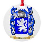 Adamov Round Ornament