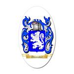 Adamovic 35x21 Oval Wall Decal