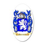 Adamovich 35x21 Oval Wall Decal
