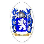 Adamovicz Sticker (Oval 50 pk)