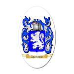 Adamovicz 35x21 Oval Wall Decal