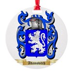 Adamovitch Round Ornament