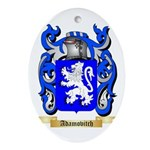 Adamovitch Ornament (Oval)