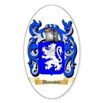 Adamovitz Sticker (Oval 50 pk)