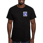 Adamovsky Men's Fitted T-Shirt (dark)