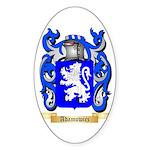 Adamowicz Sticker (Oval)