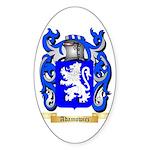 Adamowicz Sticker (Oval 10 pk)