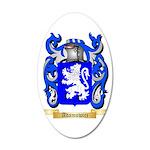Adamowicz 35x21 Oval Wall Decal