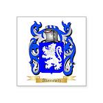 Adamowitz Square Sticker 3