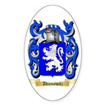 Adamowitz Sticker (Oval 10 pk)