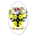 Adams 2 Sticker (Oval 50 pk)