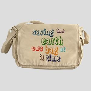 Saving the Earth Messenger Bag